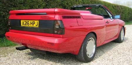 Audi Quattro Treser Roadster