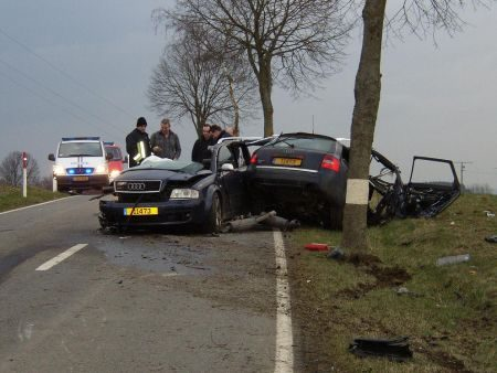 Audi RS6 Crash