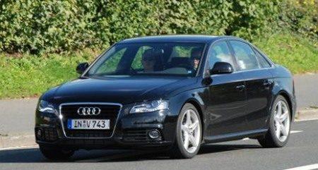 Audi S4 spyshot