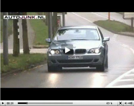 BMW Hydrogen 7 video