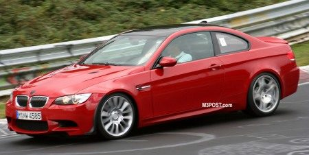 BMW M3 CSL spyshot