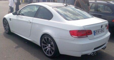 BMW m3 wit