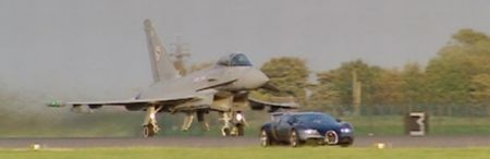 Bugatti Veyron vs Eurofighter Typhoon