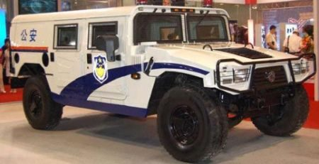 Chinese Politie Hummer H1