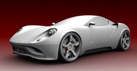 Ferrari Dino Concept Design Ugur Sahin