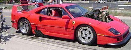 Supercharged Ferrari