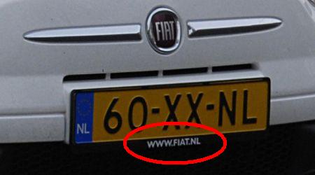 Fiat 500 Politie