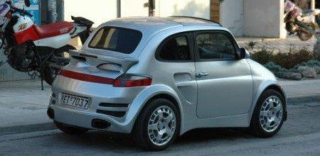 Fiat 500 Porsche Turbo