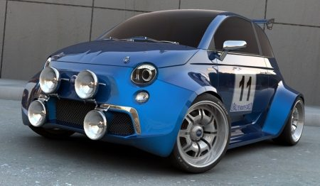 Fiat 500 killing machine