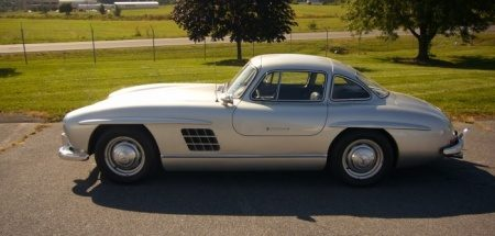 Gullwing replica