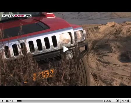 Hummer H3 Video