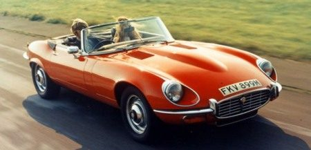 Jaguar E-Type serie2 roadster