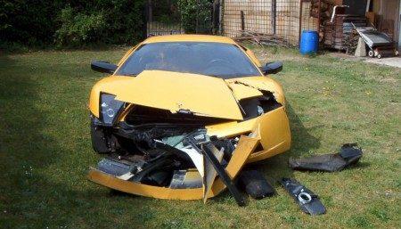 Tom Boonen doet Lamborghini Murciélago