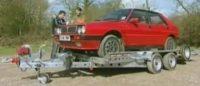 Lancia Delta Integrale in handen van Ed China