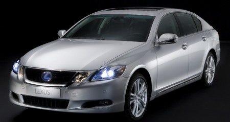 Lexus GS450H facelift