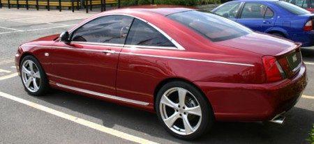 MG7 Coupe AKA Rover 75 Coupe AKA China Red Flag retro coupe