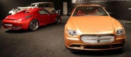 Maserati Quattroporte Goud