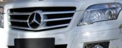 Mercedes GLK Spyshot