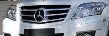 Mercedes GLK-snoet
