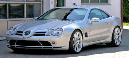 Mercedes SL Lotec SLR