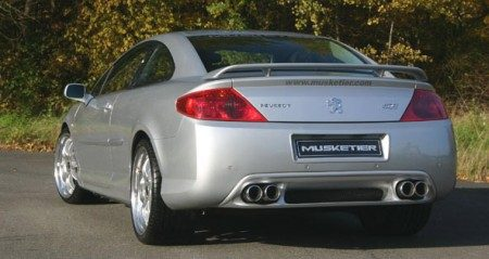 Peugeot 407 Coupe musketier