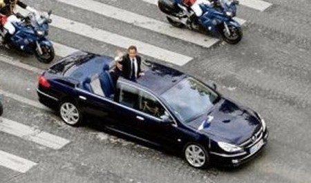 Peugeot 607 Paladine met president