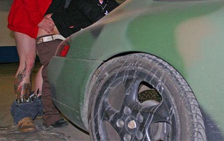 Porsche 996 camouflage