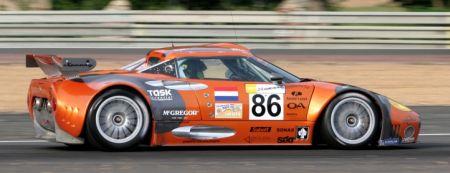 Spyker C8 Spyder GT2R Le Mans 2007