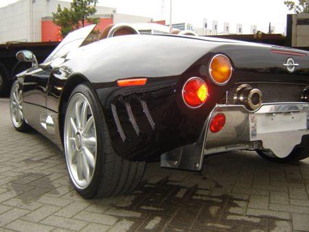 Spyker Crash 22 augustus