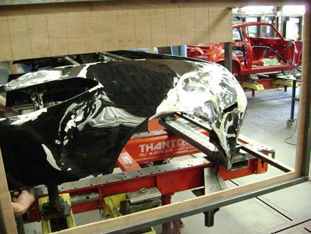 Spyker Crash 6 juni