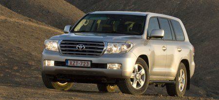 Toyota Land Cruiser V8 (Ardennen blijken verassend ruig)