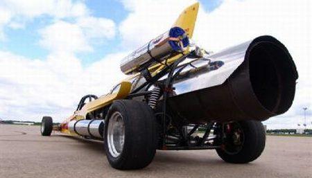Vampire Jet Car