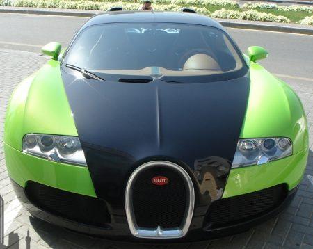 Gifgroene Veyron