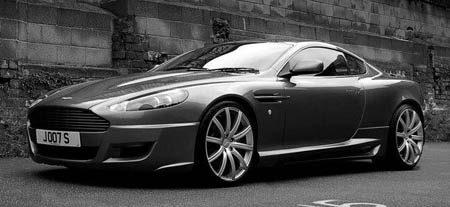 Aston Marting DB9S Project Kahn