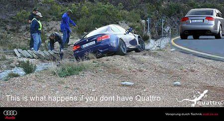 Audi BMW Quattro