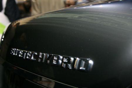 Mercedes V6 Hybride