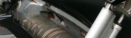 Bugatti Veyron Rusty