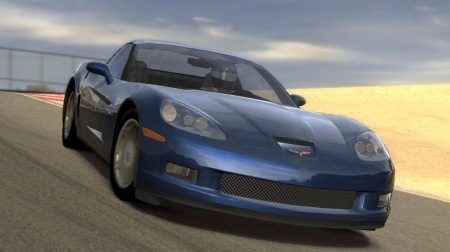 Corvette doet corkscrew op Laguna Seca