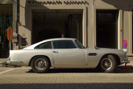 Aston-Martin DB5 - Foto Jim Appelmelk