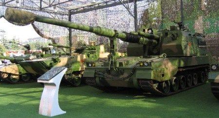 China army vehicle...