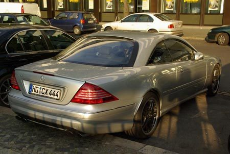 Mercedes-Benz CL 65 AMG - Foto Jim Appelmelk