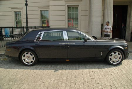 Rolls-Royce Phantom EWB - Foto Jim Appelmelk