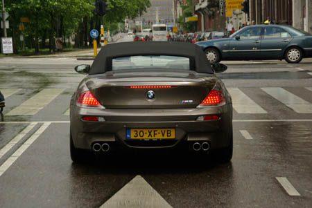 BMW M6 Cabriolet - Foto Jim Appelmelk