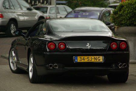 Ferrari 550 Maranello - Foto Jim Appelmelk