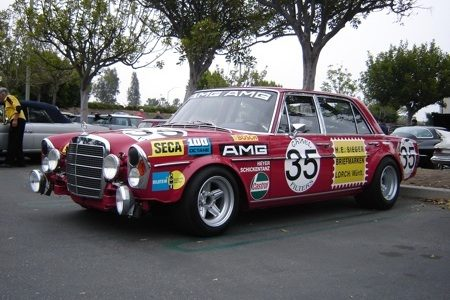 Mercedes-Benz 300 SEL 6.8 AMG W109 - Cars & Coffee - Foto Peter