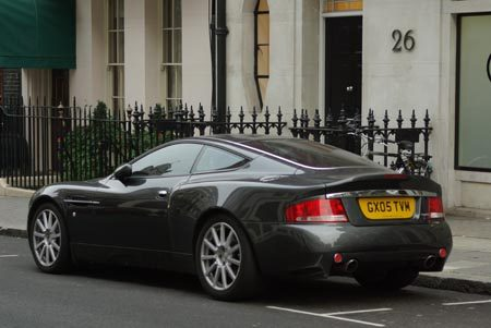 Aston-Martin Vanquish S - Foto Jim Appelmelk