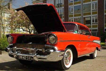 Chevrolet Bel Air 1957 - Foto Jim Appelmelk