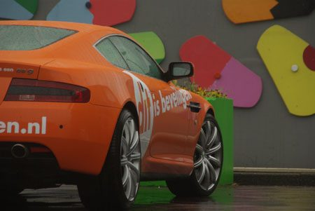 Aston Martin DB9 Orange - Foto Jim Appelmelk
