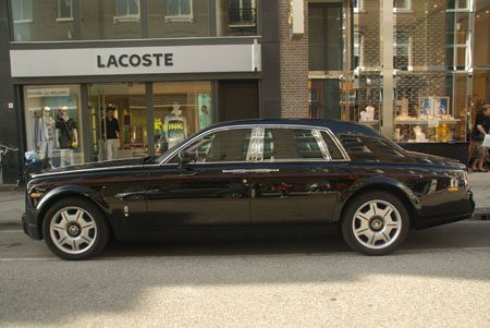 Rolls-Royce Phantom Black - Foto Jim Appelmelk