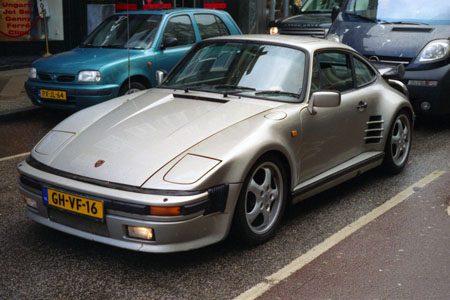 Porsche 930 Slantnose - Foto Jim Appelmelk